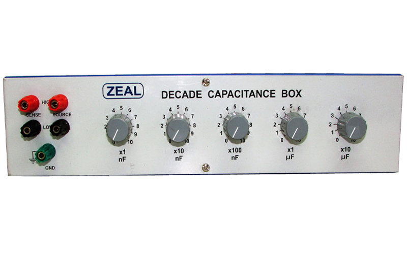 Decade Capacitance Boxes