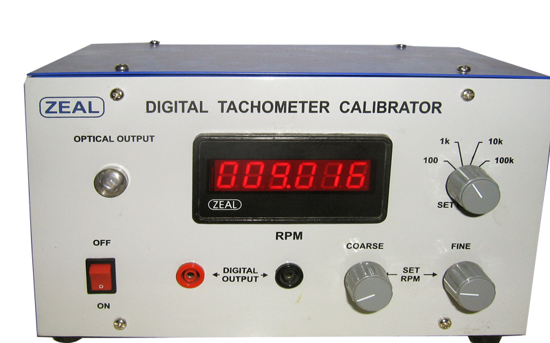Digital Tachometer Calibrator